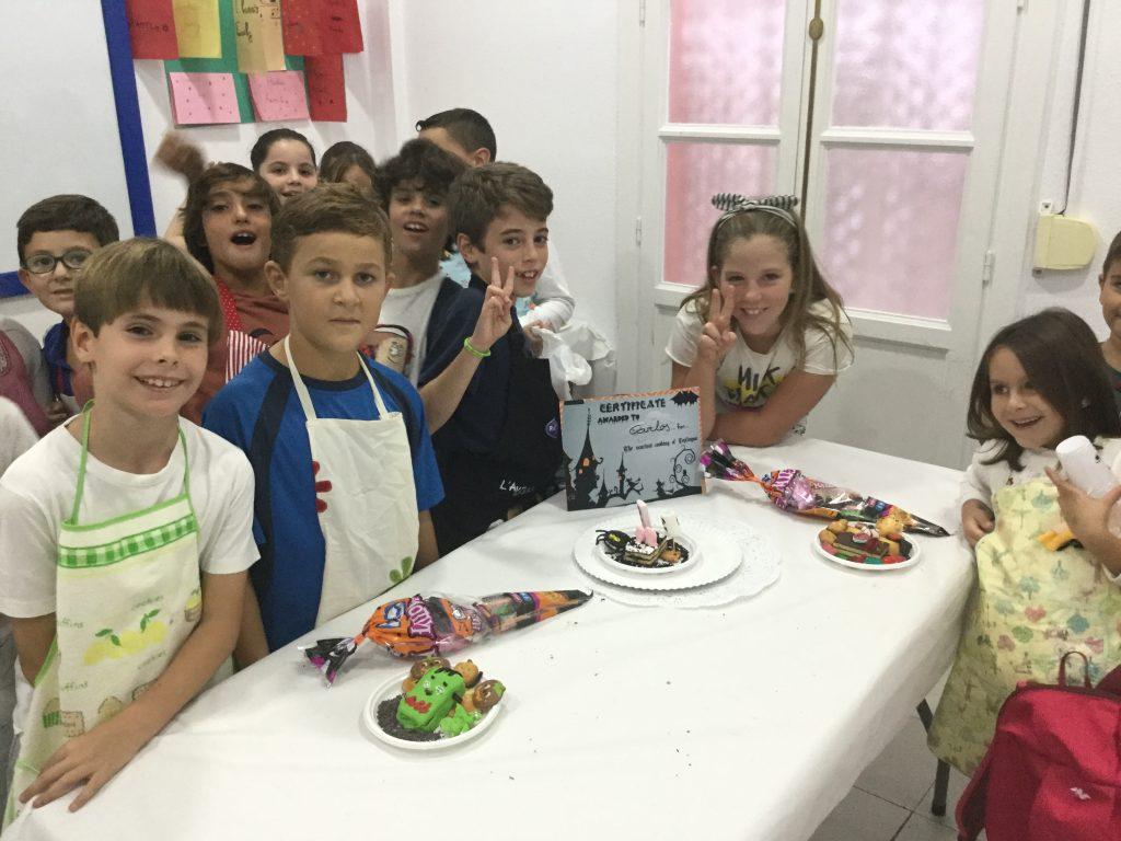 Concurso Cocina Terrorifica Niños 1