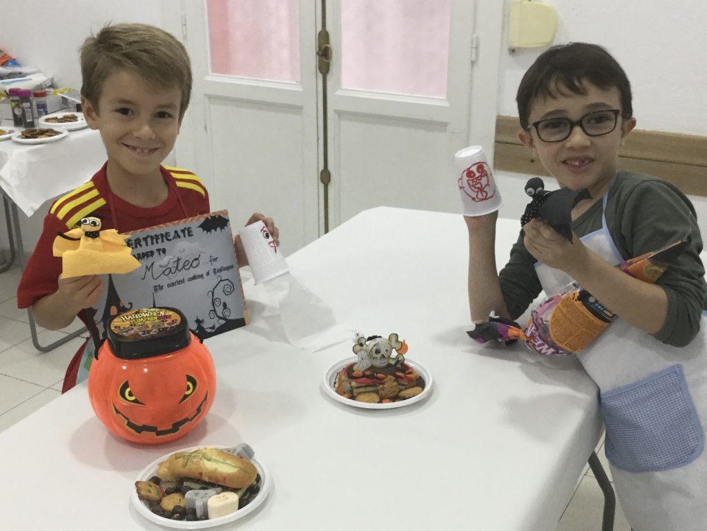 Concurso cocina terrorifica Niños Ganador 1