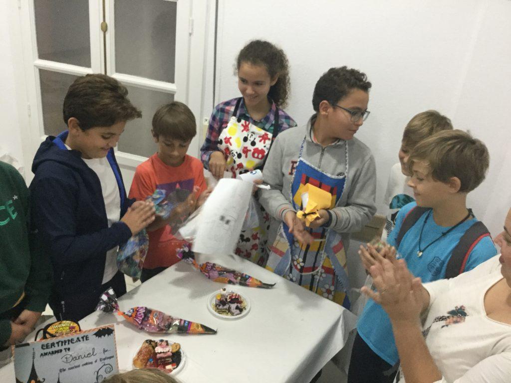 Concurso cocina terrorifica Niños Ganadores 2